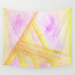 Triangle striations  Wall Tapestry