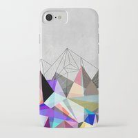 duvet iPhone & iPod Cases featuring Colorflash 3 by Mareike Böhmer
