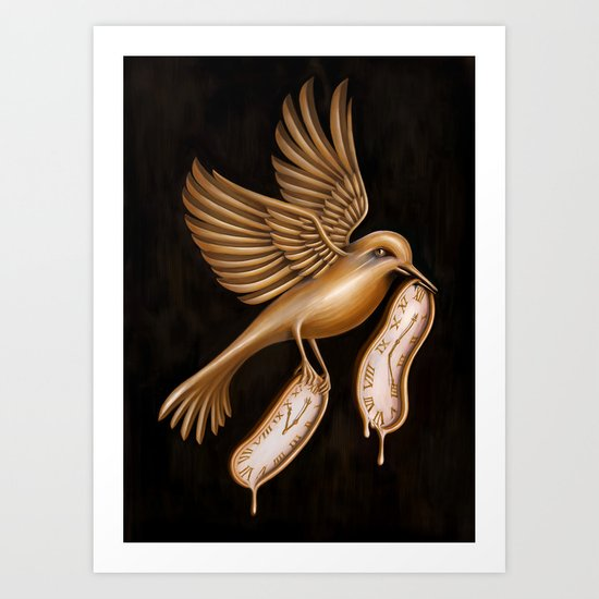 Taking Some More Time for Myself Art Print