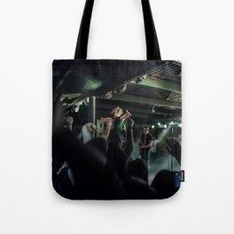 No Closer To Heaven Tote Bag