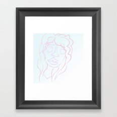 pastel belle Framed Art Print