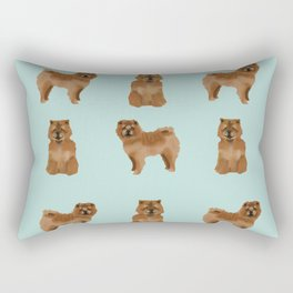 Chow Chow dog breed pure breed pet gifts must have doggo pupper lovers Rectangular Pillow
