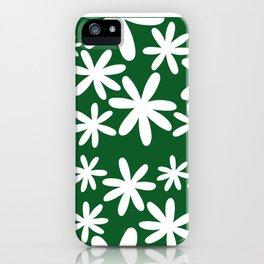Tiare Flower Green iPhone Case