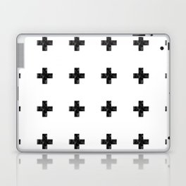 Watercolor Swiss Cross (White) Laptop & iPad Skin