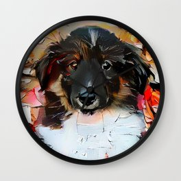 Can I Be Your Good Boy Wall Clock