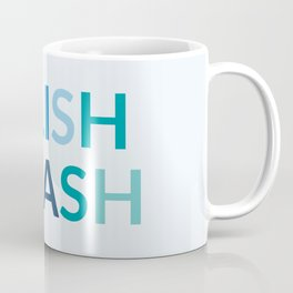 SPLISH SPLASH colorful typography Coffee Mug