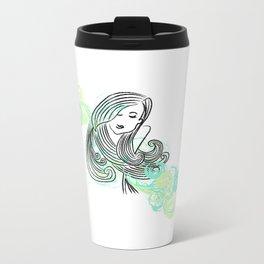 I dream of the sea Metal Travel Mug