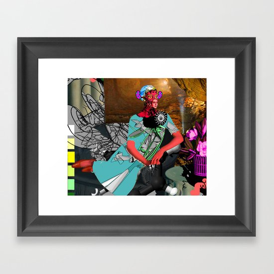jellybean mistress Framed Art Print