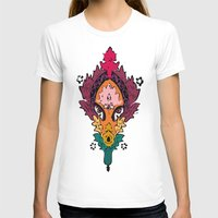 persian T-shirts featuring Persian Textile by Nahal