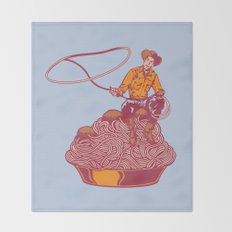 Spaghetti Western Throw Blanket