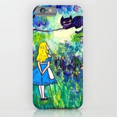 Alice in Wonderland Monet-style iPhone 6s Slim Case