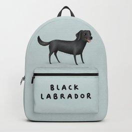 Black Labrador Backpack