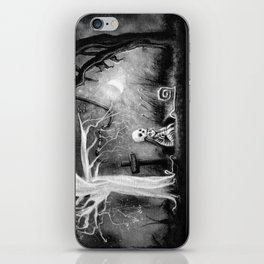rest in expectation iPhone Skin
