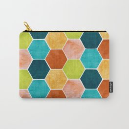 Modern Moroccan Pattern Carry-All Pouch