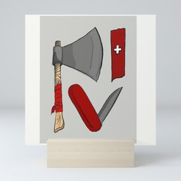 Trade tools Mini Art Print
