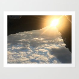 Mountains In The Carolinas Art Print