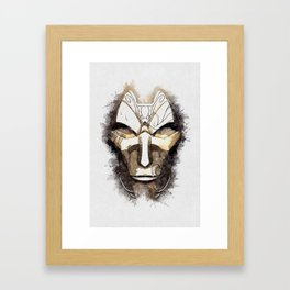A Tribute to JHIN the Virtuoso Framed Art Print