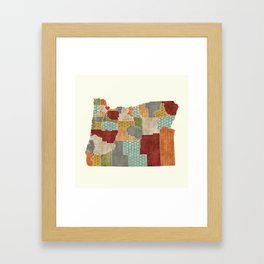 Portland Oregon Love Framed Art Print