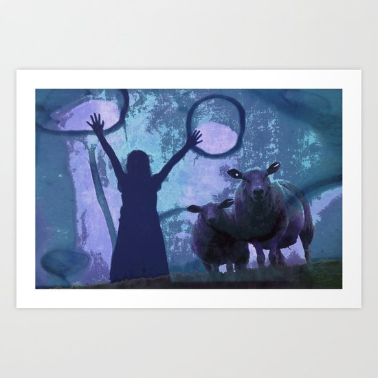 ACTIVATING MAGIC Art Print