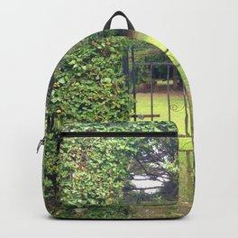 Garden Gate in Ireland Backpack