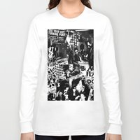 punk Long Sleeve T-shirts featuring Punk by HEADBANGPARTY