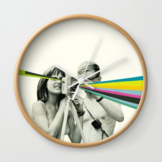 Back to Basics Wall Clock