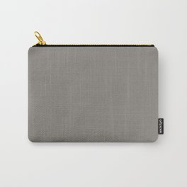 Middle Grey - solid color Carry-All Pouch