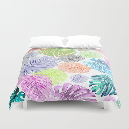 Tropical abstract Duvet Cover