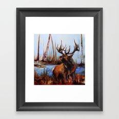 Tylers Elk Framed Art Print