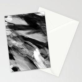 Abstract Artwork Greyscale #1 Stationery Cards