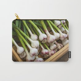 Organic Red Russian Garlic Builb Carry-All Pouch