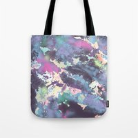 celestial Tote Bags featuring Celestial by Wendy Ding: Illustration