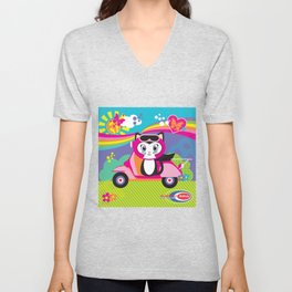 Baby Scoot ( Girls ) Unisex V-Neck
