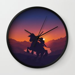 Legend Of Zelda Link Wall Clock