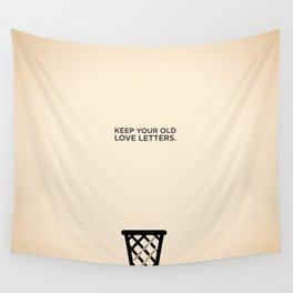 Sunscreen / Keep your old love letters Wall Tapestry