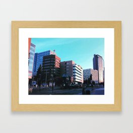 Sheffield Skyline Framed Art Print