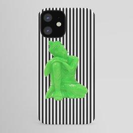 My  inner Green Buddha | Namaste Pop Art Buddha iPhone Case