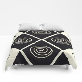 African Tribal Pattern No. 39 Comforters
