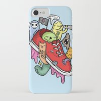 shoe iPhone & iPod Cases featuring shoe pirates by ybalasiano