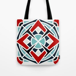 Navy in red Tote Bag