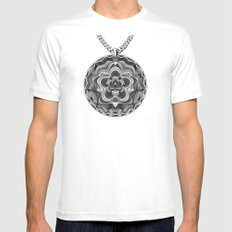 Spirobling XX MEDIUM White Mens Fitted Tee
