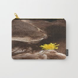 Otterly Cute Flower Power Carry-All Pouch