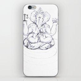Ganesha iPhone Skin