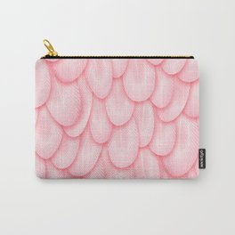 Spoonbill Feathers Carry-All Pouch