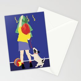 DOG WALK Stationery Cards