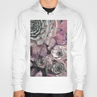 succulent Hoodies featuring succulent pink by ARTbyJWP