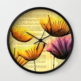 And They Just Swayed In The Wind Wall Clock