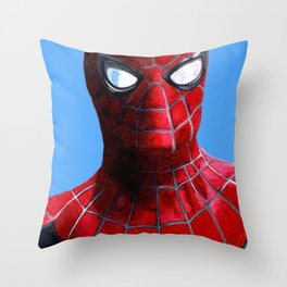 spidey print Throw Pillow