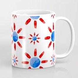 Watercolor ethnical ornament Coffee Mug