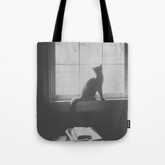 Watching the birds Tote Bag